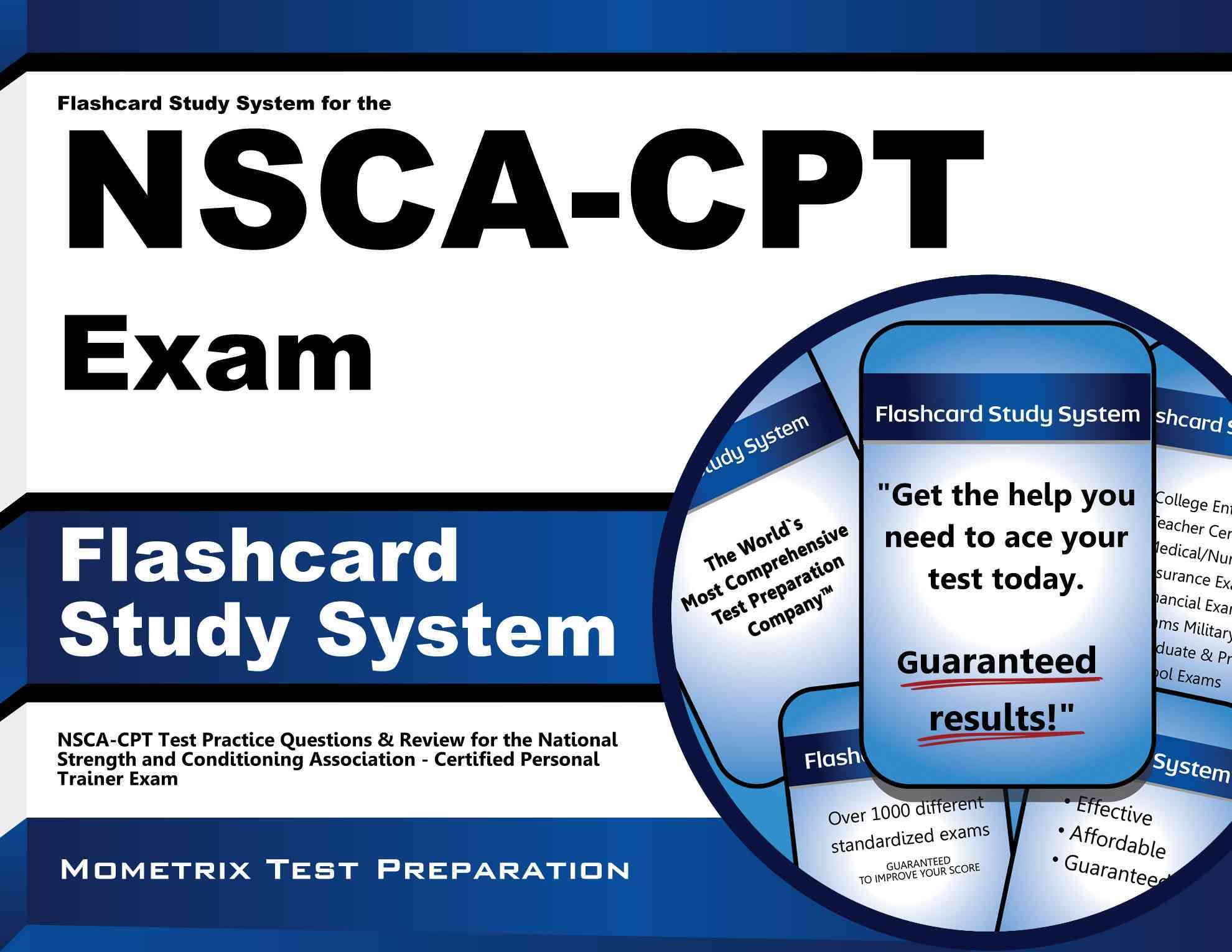 Flashcard Study System for the Nsca-cpt Exam By Nsca-cpt Exam Secrets (EDT)